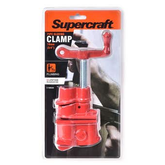 Supercraft Clamp Pipe Gluing Heavy Duty 3/4