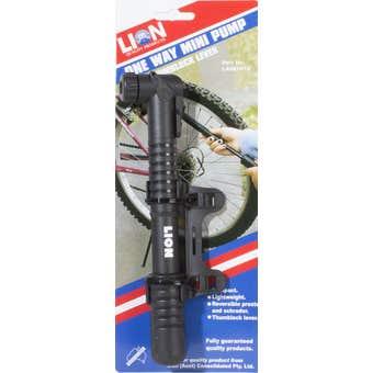 Lion 2 Way Mini Bike Pump