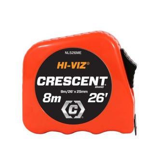 Crescent Hi-Viz Tape Measure 8m/26'