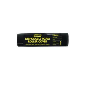 Uni-Pro Disposable Foam Roller Cover 230mm 4mm Nap