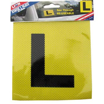 Lion See Thruough L Plate - 2 Pack
