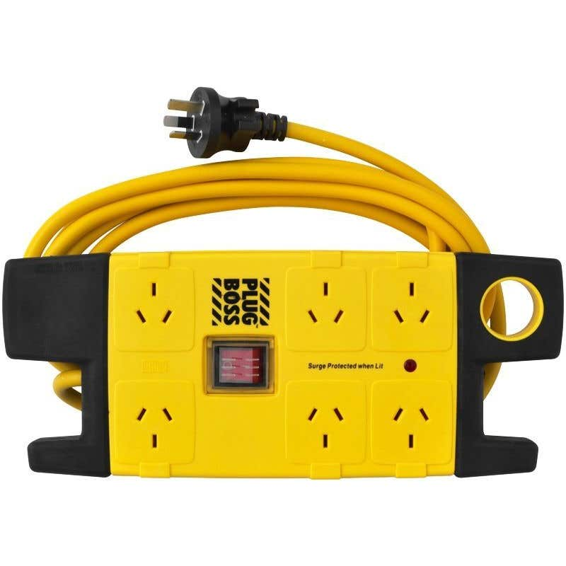 HPM Plug Boss Powerboard 6 Outlet