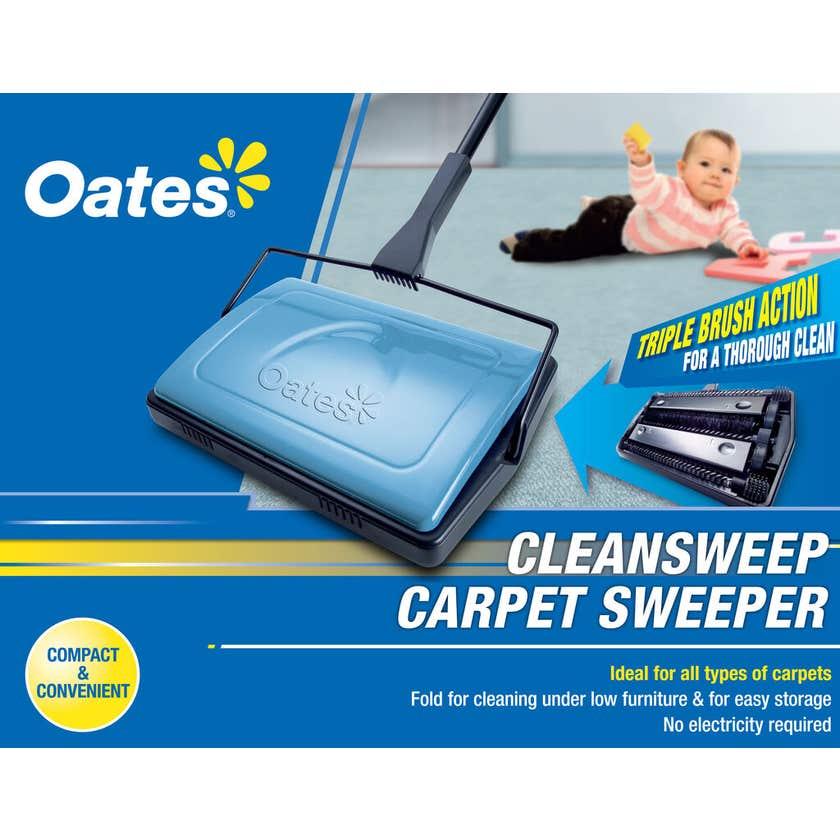 Oates Clean Sweep Carpet Sweeper