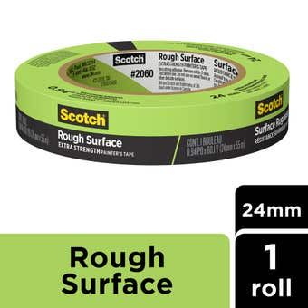 Scotch Rough Surface Extra Strength Painter's Masking Tape 24mm x 55m