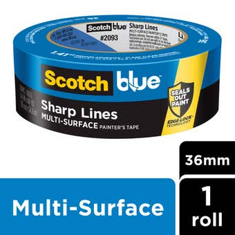 Scotch Blue Sharp Lines Multi-Surface Masking Tape 36mm x 55m