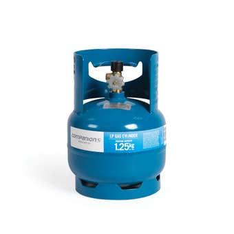 """Companion Gas Cylinder LH Thread 3/8"""" 1.25kg"""