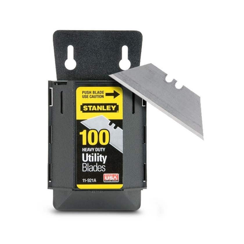 Stanley Heavy Duty Utility Blades - 100 Pack