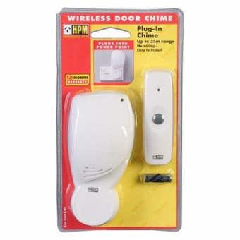 HPM Plug-In Wireless Door Chime
