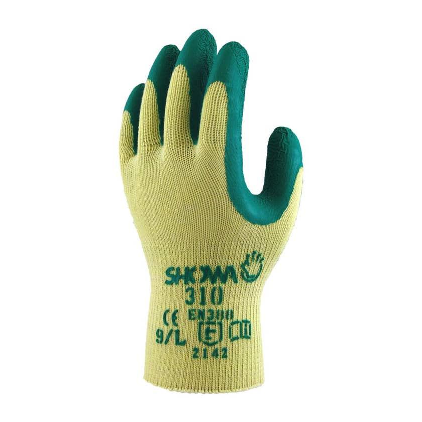 Showa Gardening Gloves Large Green 310
