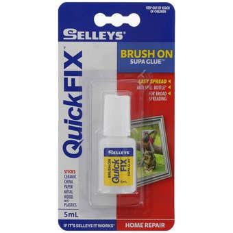 Selleys Quick Fix Supa Glue Brush On 5ml