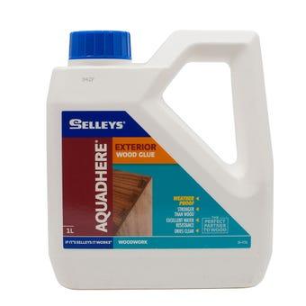 Selleys Aquadhere Exterior Adhesive PVA 1L