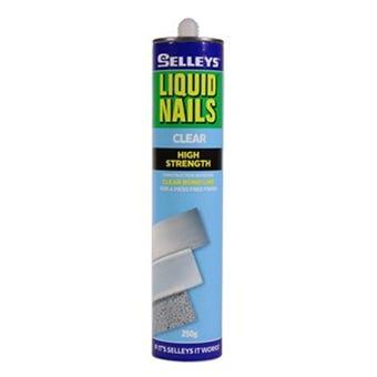 Selleys Liquid Nails Clear Adhesive 250g