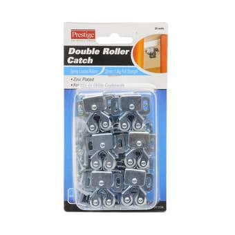 Prestige Double Ball Roller Catch Zinc Plated 30 x 32 - 20 Pack