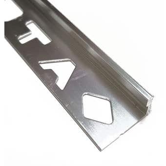 DTA Aluminium Tile Angle 3m x 10mm
