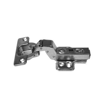 Prestige Cabinet Hinge Clip On Fitting Full Overlay Nickel Plated - 2 Pack
