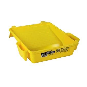 Uni-Pro Roller Tray With Paint Brush Holders 230mm