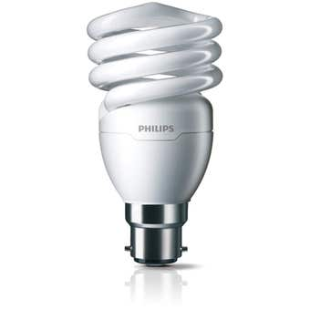 Philips Tornado Globe CFL 20W BC Warm White