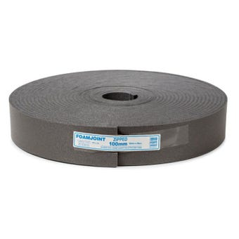 Foamjoint Polyethylene Foam Expansion Jointing 100mm x 10mm x 25m