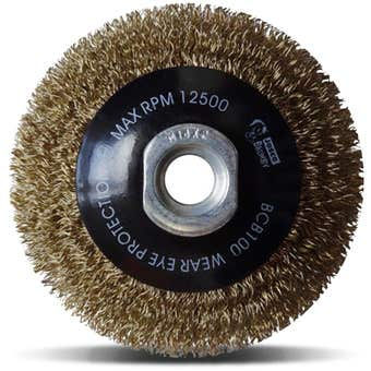 Josco Crimped Multi-Thread Bevel Brush 100m