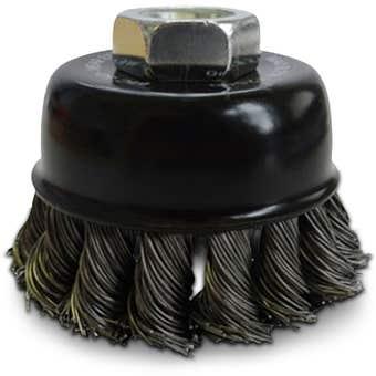 Josco Multi Thread Twist Knot Cup Brush 65mm