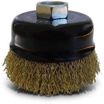 Josco Crimped Wire Cup Brush 75mm