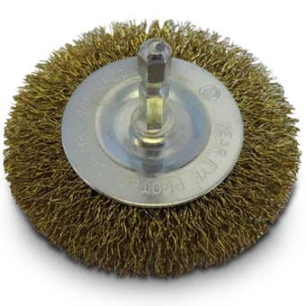 Josco Crimped Wire Wheel Brush 75mm