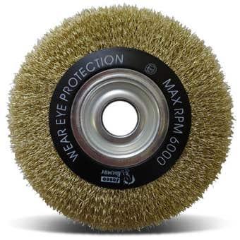 Josco Multi-Bore Wheel Brush 150 x 20mm