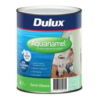 Dulux Aquanamel Semi Gloss Deep Base 1L