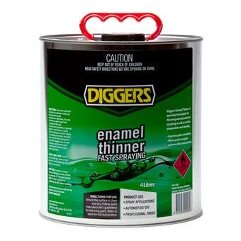 Diggers Enamel Thinner 4L