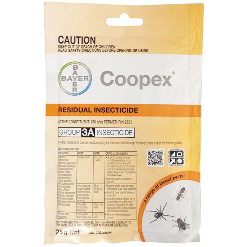 Bayer Coopex Insecticide Sachet 25g