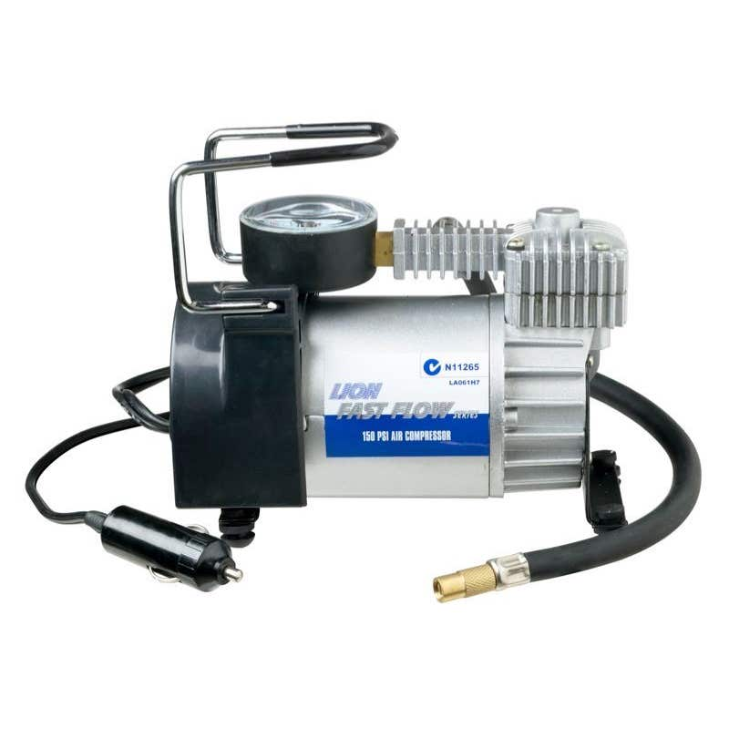 Lion 12V Fast Flow Air Compressor 150psi