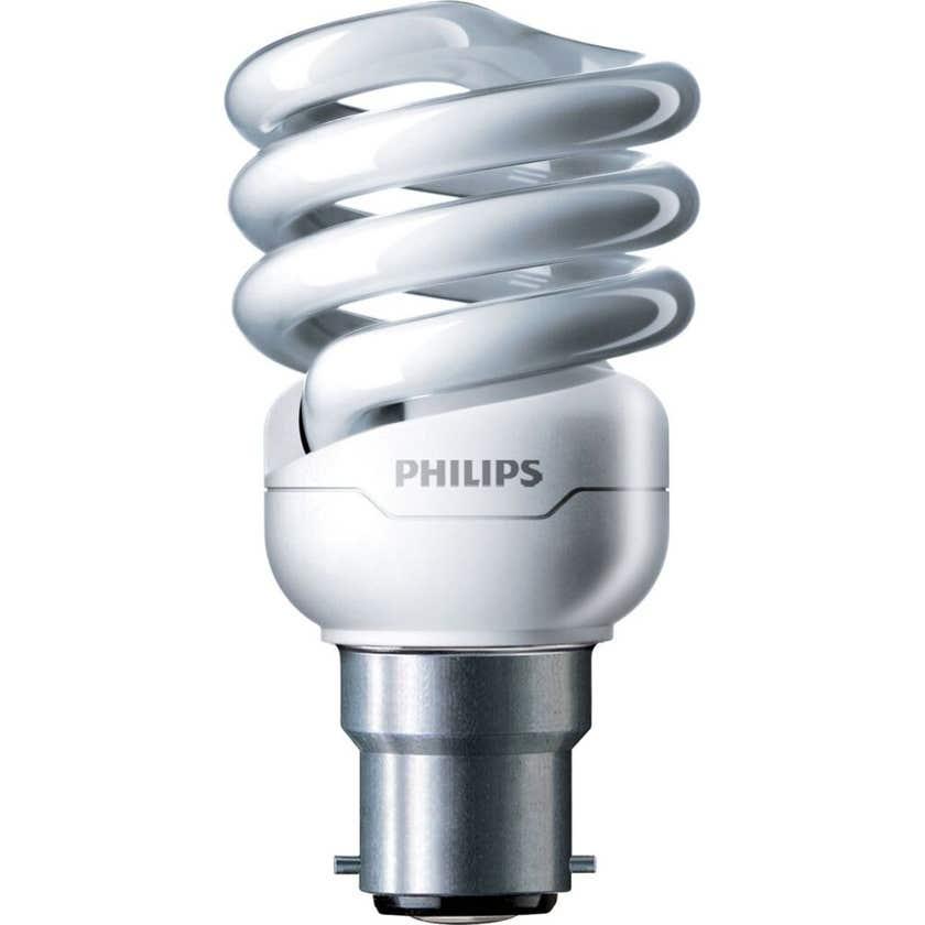 Philips Tornado Globe CFL 12W BC Warm White