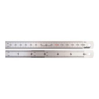 "Crescent Lufkin Stainless Steel Ruler 150mm/6"""