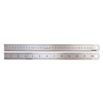 """Crescent Lufkin Stainless Steel Rule 300mm/12"""""""
