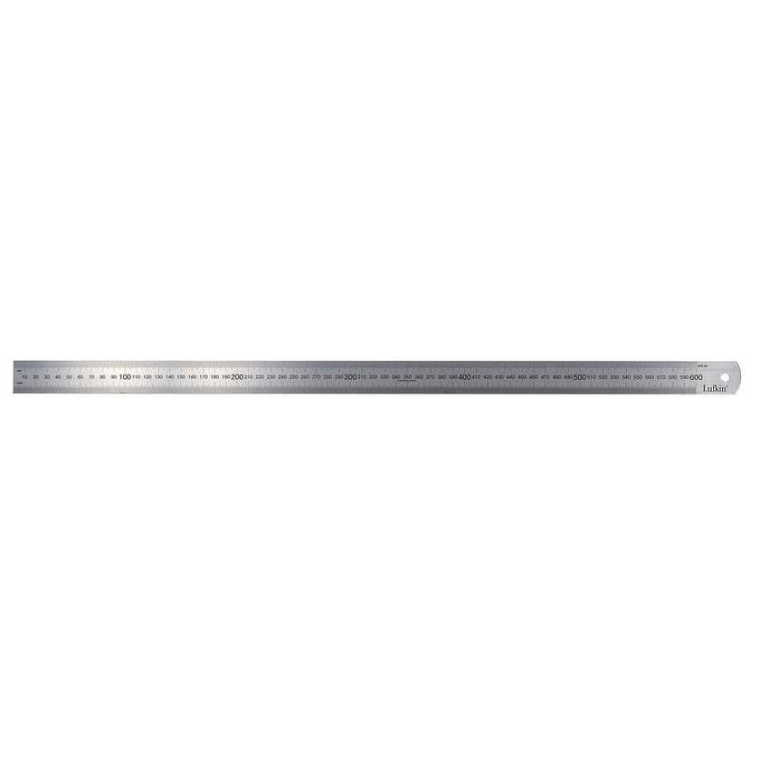 "Crescent Lufkin Stainless Steel Ruler 600mm/24"""