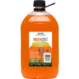 Waxworks Citronella Oil 4L