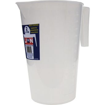 Lion Oil Resistant Measuring Jug 2L