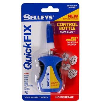 Selleys Quick Fix Supa Glue Control Bottle 3g