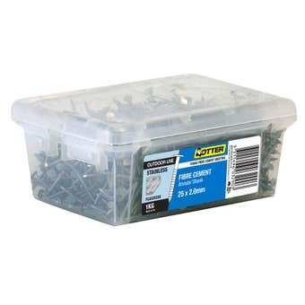 Otter Nail Fibre Cement 316 Stainless Steel 25 x 2mm 1kg