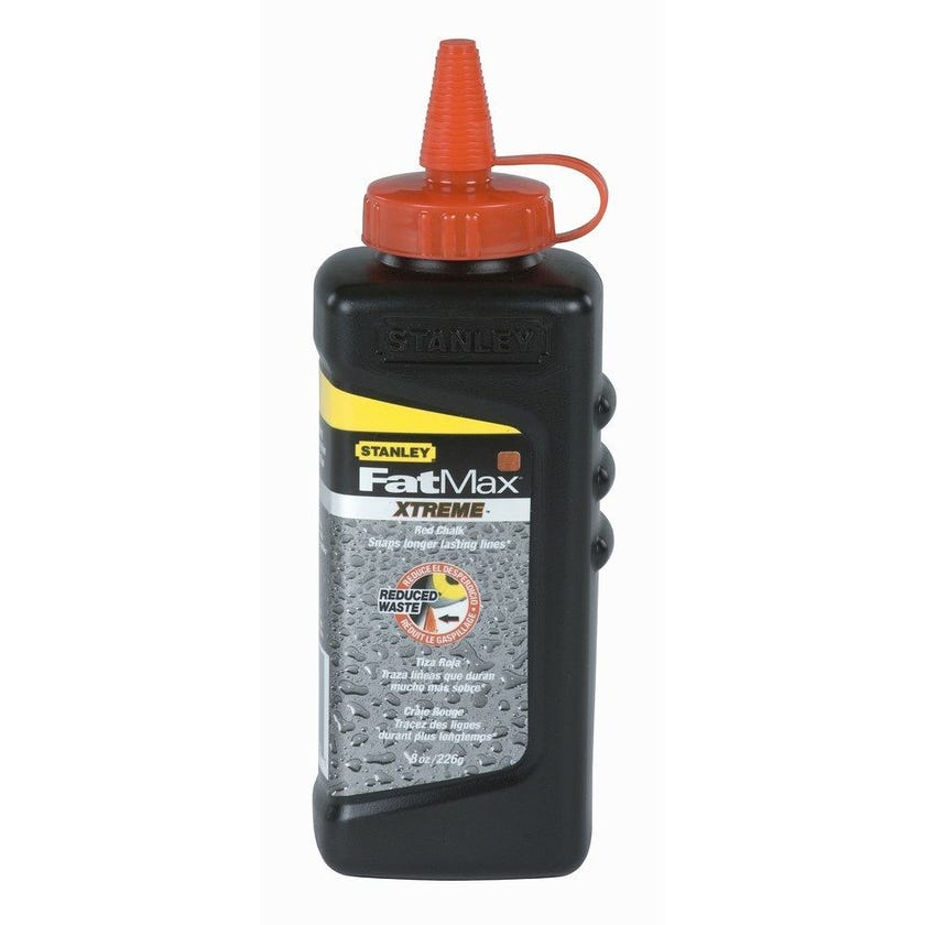 Stanley FatMax Pro Red Chalk 227g