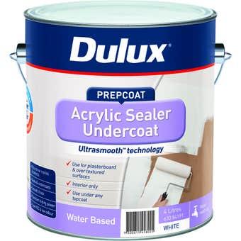 Dulux Acrylic Sealer Undercoat White 4L