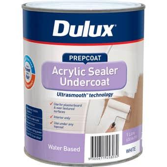 Dulux Acrylic Sealer Undercoat White 1L