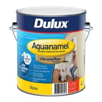 Dulux Aquanamel High Gloss True Red Base 2L