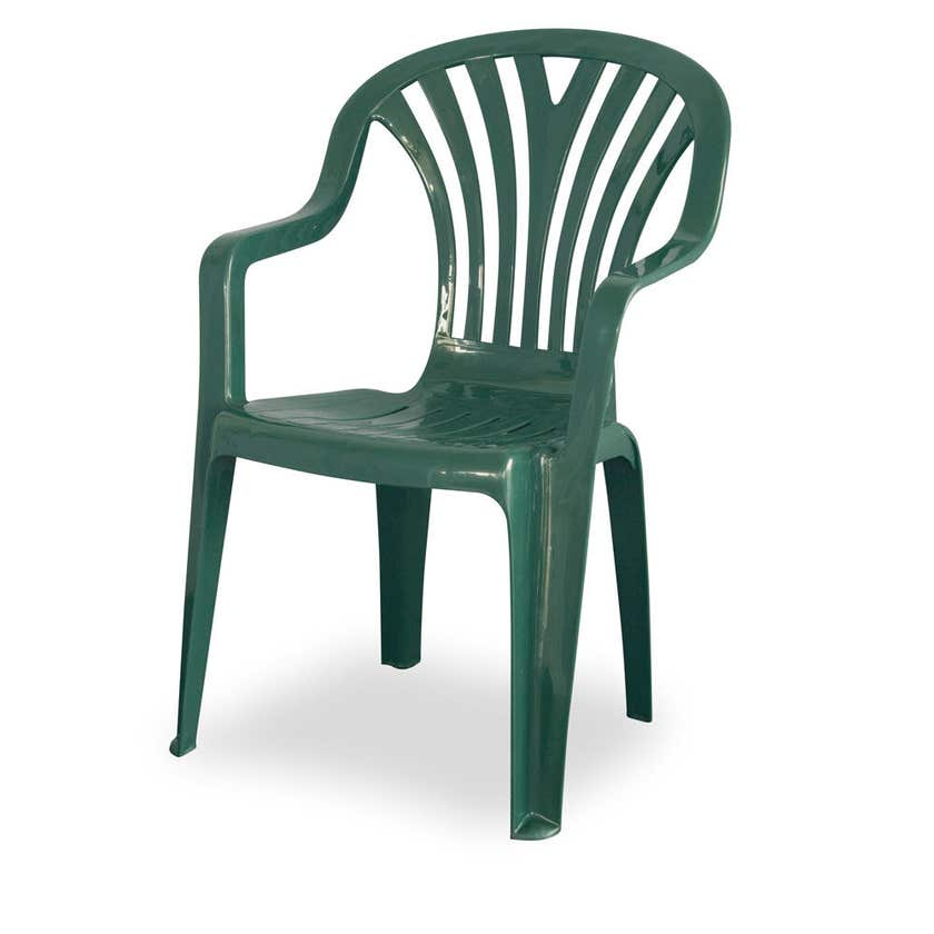Techno Plastics Resin Chair Chelsea Green