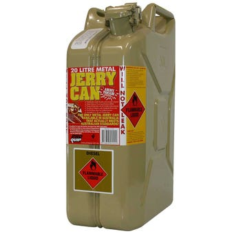 Pro Quip Olive Metal Jerry Can 20L