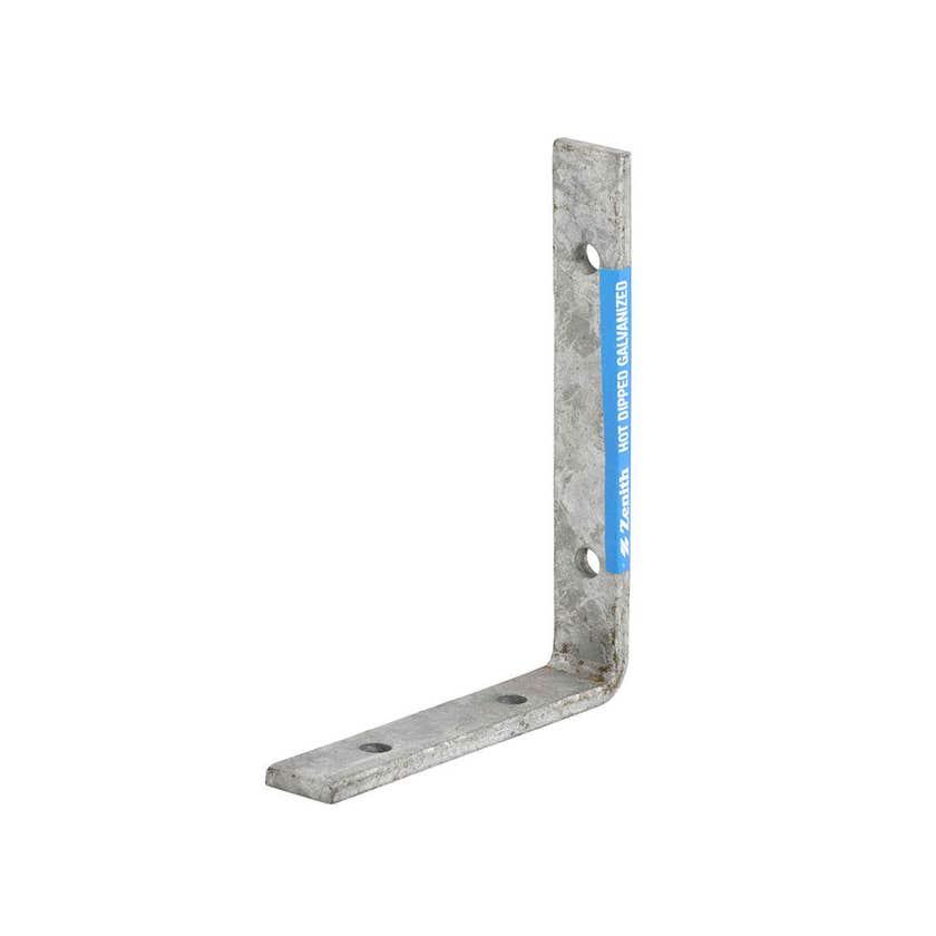 Zenith Angle Bracket Galvanised 125 x 100 x 20mm