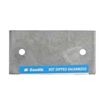 Zenith Mending Plate Galvanised 100 x 50 x 3mm