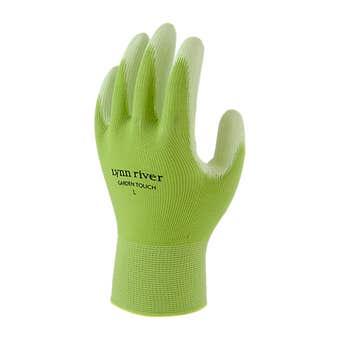Lynn River Ultra Garden Touch Green Gardening Gloves Large