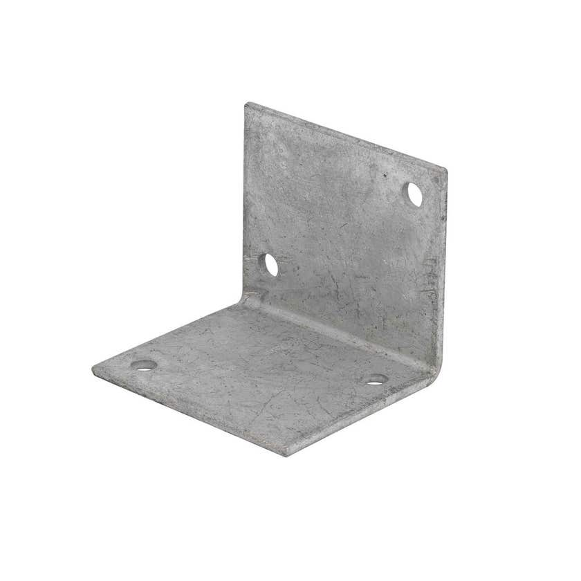 Zenith Builders Angle Bracket Galvanised 60 x 60 x 70 x 3mm - 1 Pack