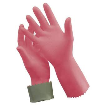 Ansell Silver Lined Rubber Glove - Size 8